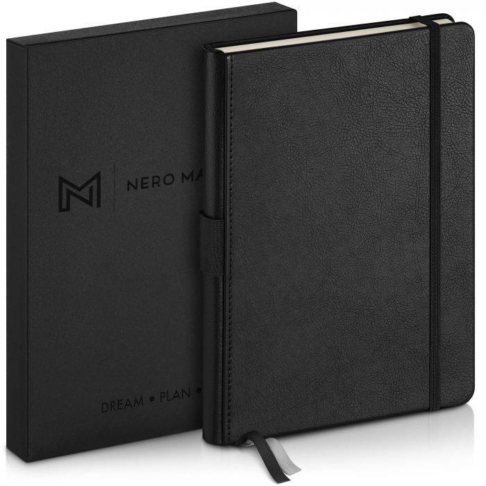 Black-premium-notebook-with-gift-box