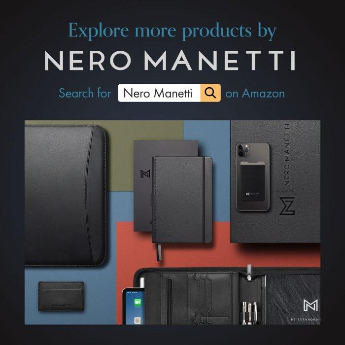 Nero-manetti-leather-portfolio-notebook